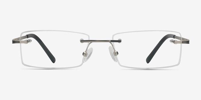 Silver Evasive -  Lightweight Metal Eyeglasses