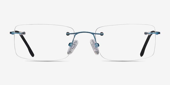 Blue Woodrow -  Metal Eyeglasses