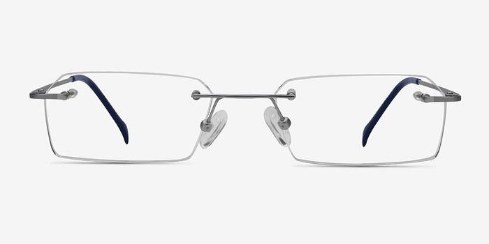 Silver Floe -  Lightweight Titanium Eyeglasses