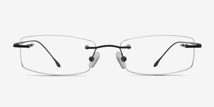 Black Gallivant -  Lightweight Titanium Eyeglasses