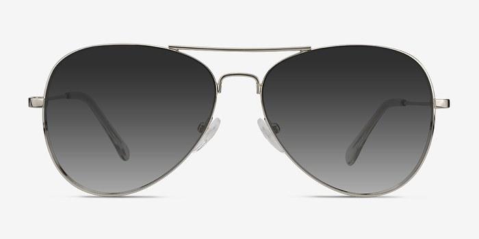 Silver Good vibrations -  Metal Sunglasses