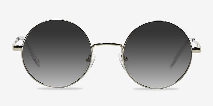 Silver Guru -  Metal Sunglasses