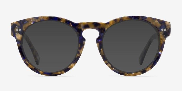Blue/Tortoise Penelope -  Plastic Sunglasses