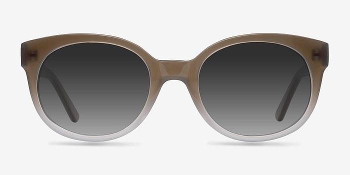 Brown Matilda -  Vintage Acetate Sunglasses