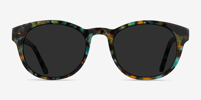 Green Tortoise Coppola -  Acetate Sunglasses