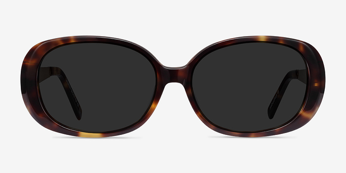 Tortoise Lauren -  Acetate Sunglasses