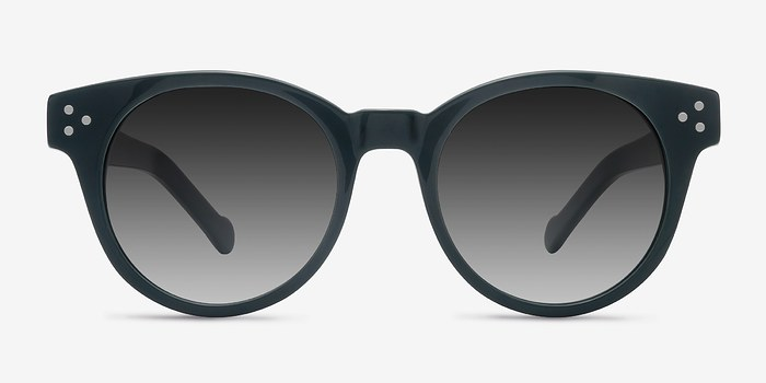 Green Minuit -  Acetate Sunglasses