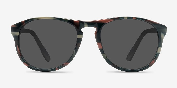 Floral Silt -  Acetate Sunglasses