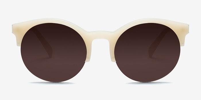 Ivory Verona -  Acetate Sunglasses