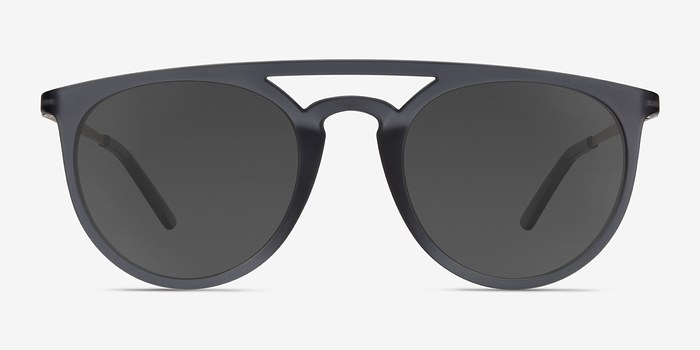 Gray Benicia -  Metal Sunglasses