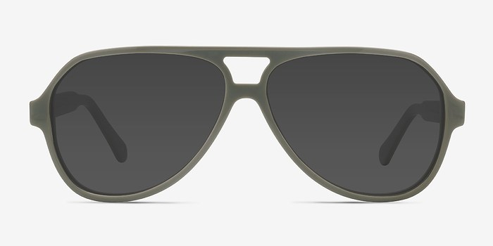 Light Green Americana -  Acetate Sunglasses