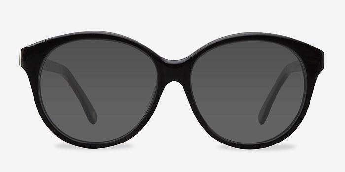 Dark Gray Stella -  Acetate Sunglasses