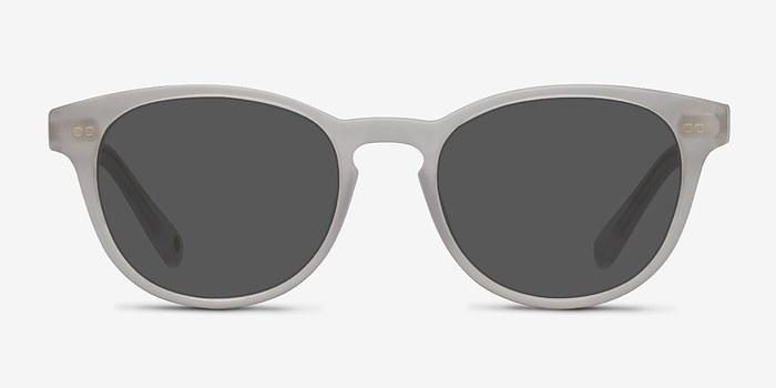 Matte White Till Dawn -  Acetate Sunglasses