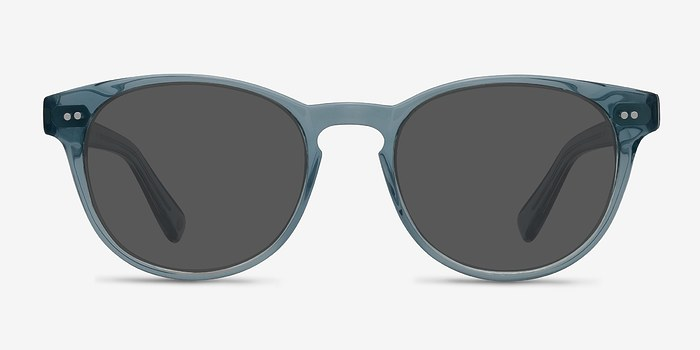 Clear Blue Till Dawn -  Acetate Sunglasses