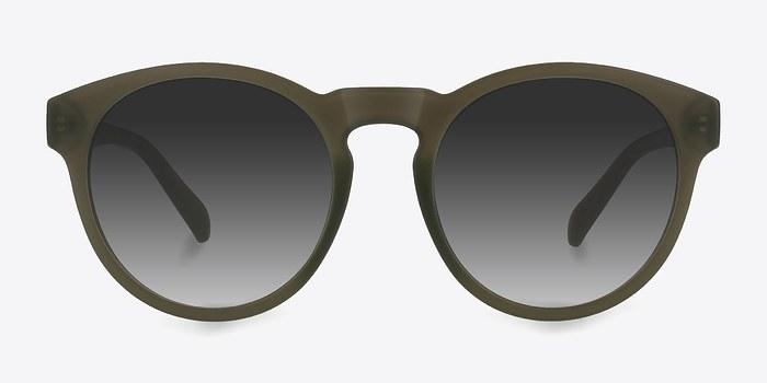 Matte Green Taylor -  Plastic Sunglasses