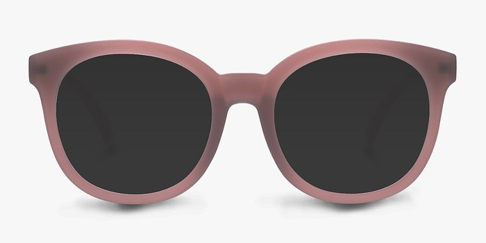 Matte Brown Elena -  Plastic Sunglasses