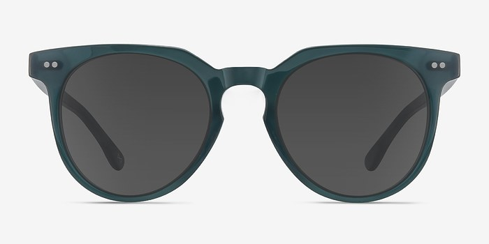 Viridian Shadow -  Vintage Acetate Sunglasses