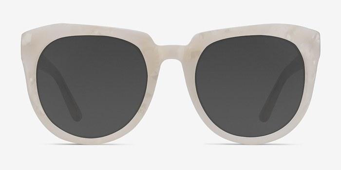 White Laohu -  Vintage Acetate Sunglasses