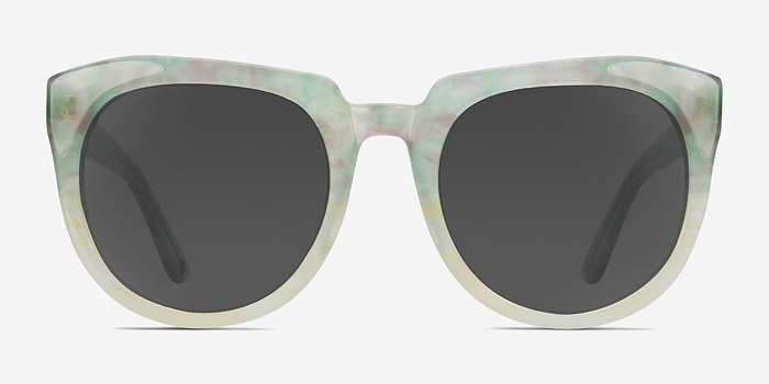 Floral Laohu -  Acetate Sunglasses