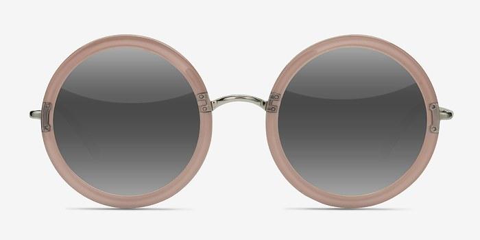 Clear Beige Joplin -  Acetate Sunglasses