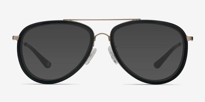 Black Duke -  Vintage Acetate Sunglasses