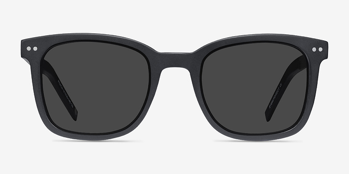 Matte Black Peach -  Acetate Sunglasses