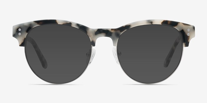 Ivory Tortoise College -  Acetate Sunglasses