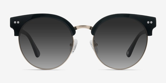 Black Silicate -  Acetate Sunglasses