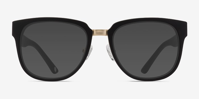 Matte Black Haute Couture -  Acetate Sunglasses