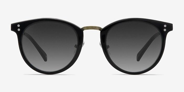 Charcoal Sun Nostalgia -  Vintage Acetate Sunglasses