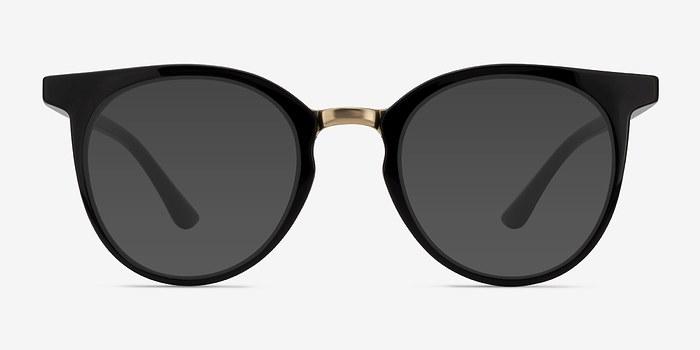 Black Lulu -  Metal Sunglasses