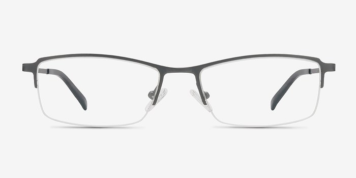 Gunmetal Hatch -  Lightweight Titanium Eyeglasses