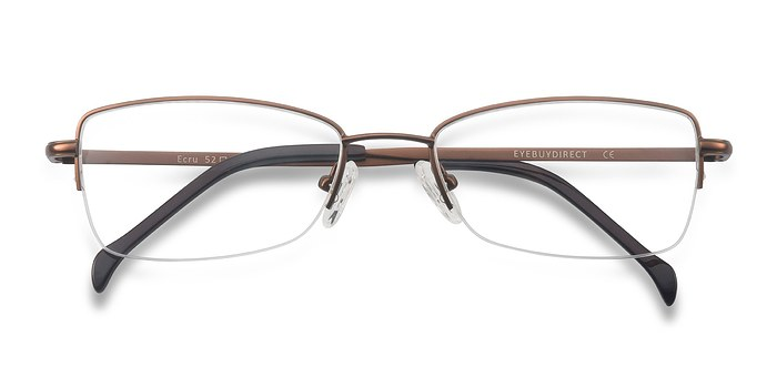Bronze Ecru -  Metal Eyeglasses
