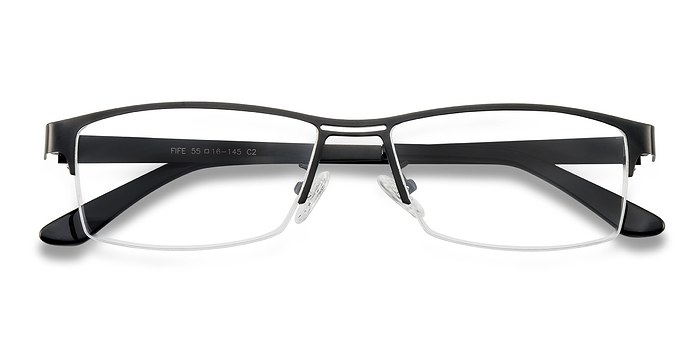 Black Fife -  Metal Eyeglasses