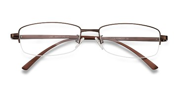 Brown Limit -  Metal Eyeglasses