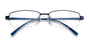 Navy Limit -  Metal Eyeglasses