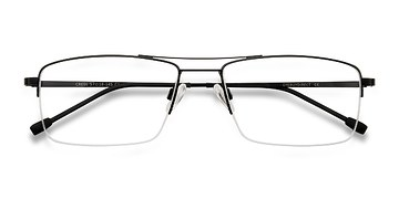 Black Creel -  Metal Eyeglasses