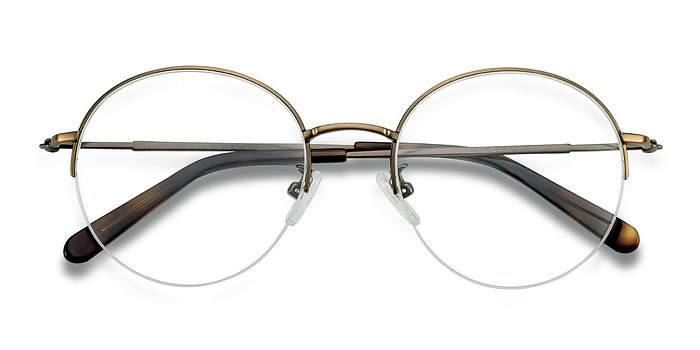 Bronze Albee -  Metal Eyeglasses