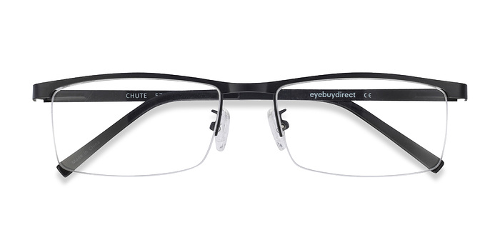 Black Chute -  Metal Eyeglasses