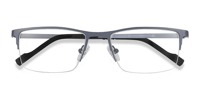 Gray Variable -  Metal Eyeglasses