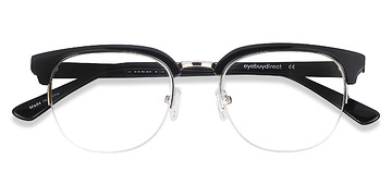 Black  Genbu -  Acetate Eyeglasses