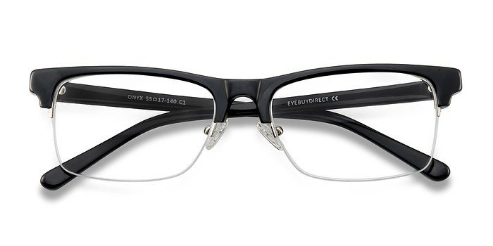 Black Onyx -  Acetate Eyeglasses