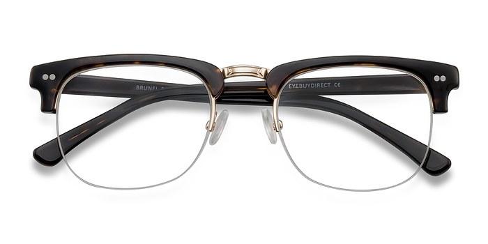 Tortoise Brunel -  Acetate Eyeglasses