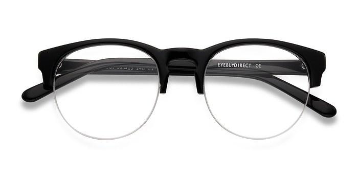 Black Zoot -  Vintage Acetate Eyeglasses