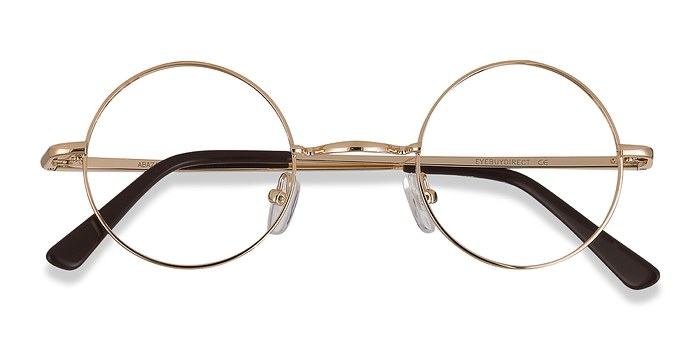 Golden Abazam -  Fashion Metal Eyeglasses