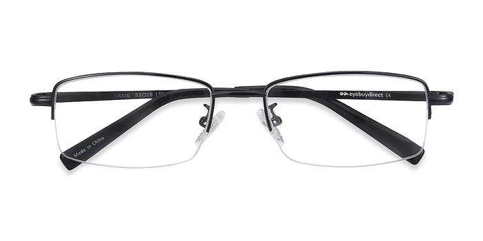 Black Craig -  Metal Eyeglasses