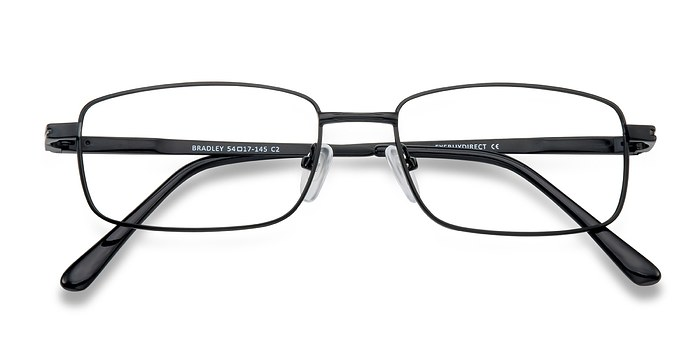 Black Bradley -  Classic Metal Eyeglasses
