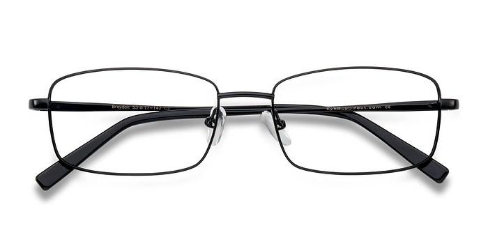 Black Braydon -  Classic Metal Eyeglasses