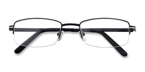 Brian prescription eyeglasses (Black)