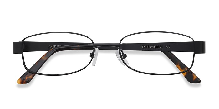 Black  Angeline -  Classic Metal Eyeglasses